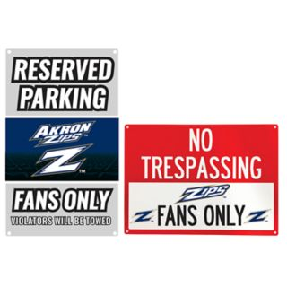 Arkansas Razorbacks Metal Sign Set