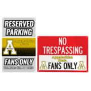 Appalachian State Mountaineers Metal Sign Set