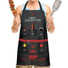 Wembley 'Grill Instructor' Apron
