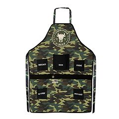 Wembley Camouflage 'Commander In Beef' Apron