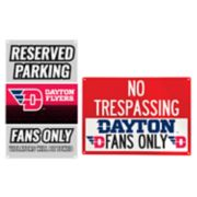 Dayton Flyers Metal Sign Set
