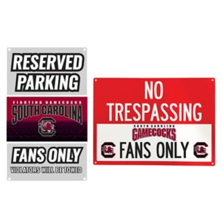 South Carolina Gamecocks Metal Sign Set