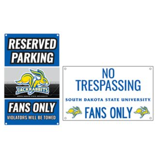 South Dakota State Jackrabbits Metal Sign Set