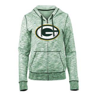Women's New Era Green Bay Packers Space-Dye Hoodie
