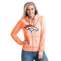 Women's New Era Denver Broncos Space-Dye Hoodie