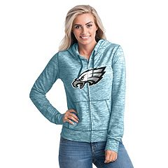 Women's New Era Philadelphia Eagles Space-Dye Hoodie