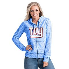 Women's New Era New York Giants Space-Dye Hoodie