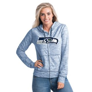 Women's New Era Seattle Seahawks Space-Dye Hoodie