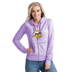 Women's New Era Minnesota Vikings Space-Dye Hoodie