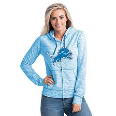 Women's New Era Detroit Lions Space-Dye Hoodie
