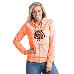 Women's New Era Cincinnati Bengals Space-Dye Hoodie