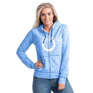 Women's New Era Indianapolis Colts Space-Dye Hoodie