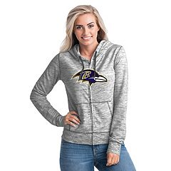 Women's New Era Baltimore Ravens Space-Dye Hoodie