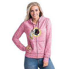 Women's New Era Washington Redskins Space-Dye Hoodie