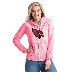 Women's New Era Arizona Cardinals Space-Dye Hoodie