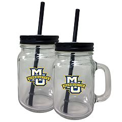 Marquette Golden Eagles Mason Jar Set