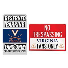 Virginia Cavaliers Metal Sign Set