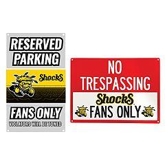 Wichita State Shockers Metal Sign Set