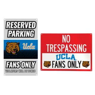 UCLA Bruins Metal Sign Set