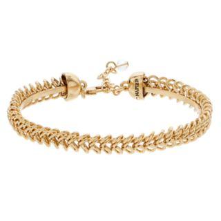 Napier Gold Tone Chain Detail Bracelet