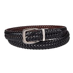 Big & Tall Croft & Barrow® Basket Weave Braided Belt