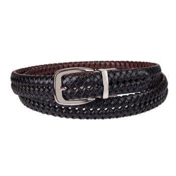 Big & Tall Croft & Barrow® Basket Weave Braided Belt