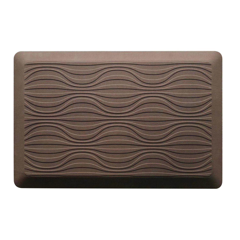 Ordinaire KCARE Cushioned Geometric Kitchen Mat   20u0027u0027 X 32u0027u0027