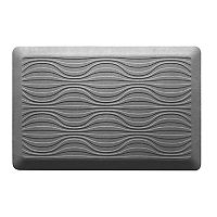 KCARE Cushioned Geometric Kitchen Mat 21-In x 32-In Deals