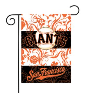 San Francisco Giants Garden Flag with Pole