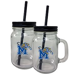 Memphis Tigers Mason Jar Set