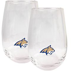 Seattle Mariners Stemless Wine Glass Set