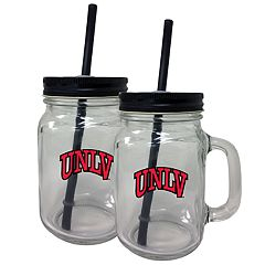UNLV Rebels Mason Jar Set