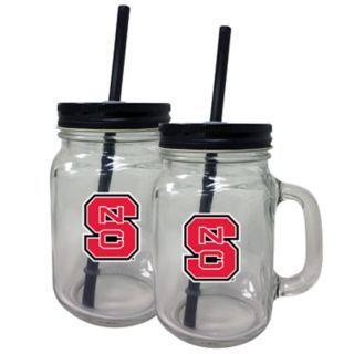North Carolina State Wolfpack Mason Jar Set