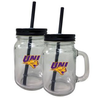 Northern Iowa Panthers Mason Jar Set