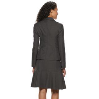 Women's Le Suit Flounce Hem Skirt Suit