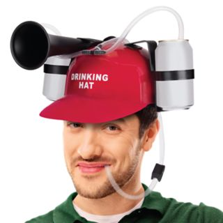 Wembley Drinking Helmet with Horn
