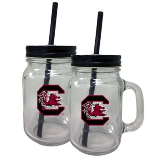 South Carolina Gamecocks Mason Jar Set