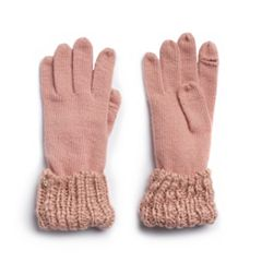 Women's LC Lauren Conrad Full Fingered Knit Gloves