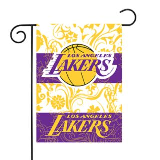 Los Angeles Lakers Garden Flag with Pole