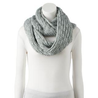 Women's LC Lauren Conrad Chunky Knit Lurex Infinity Scarf