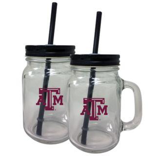 Texas A&M Aggies Mason Jar Set