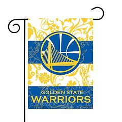 Golden State Warriors Garden Flag with Pole