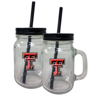 Texas Tech Red Raiders Mason Jar Set