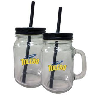 Toledo Rockets Mason Jar Set