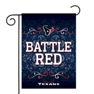 Houston Texans Garden Flag with Pole