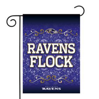 Baltimore Ravens Garden Flag with Pole