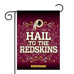 Washington Redskins Garden Flag with Pole