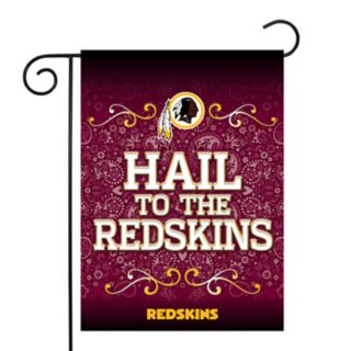 Washington Redskins Garden Flag with Pole