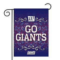 edd0d8c8f2c New York Giants Garden Flag with Pole