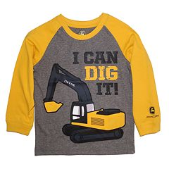 Baby Boy John Deere 'I Can Dig It' Graphic Tee
